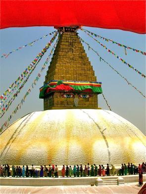Visit Boudhanath