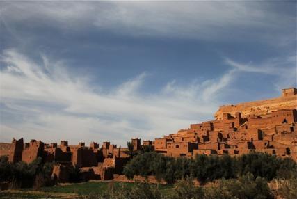 Visit ancient kasbahs (Ait Ben Haddou)