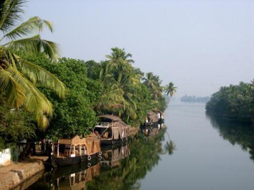 Cruise along the Kerala backwaters