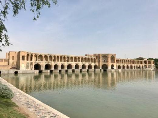 See the Khaju Bridge in Isfahan