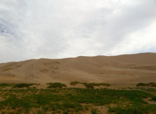 Climb the Khongor Sand Dunes
