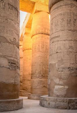 You will be astounded by the massive scale of the Karnak temple complex