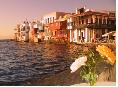 Enjoy a Mykonos morning before returning to Athens