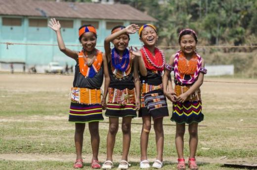 Friendly hellos in Nagaland (Photo: Manoj Sharma)