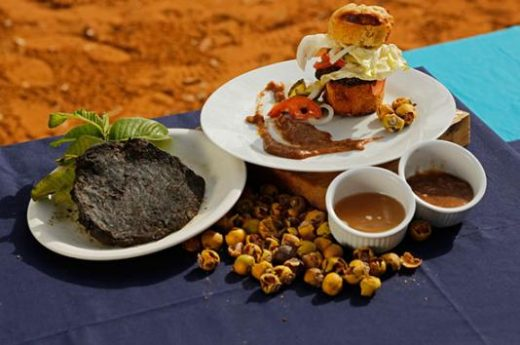 Savor local cuisine in Swakopmund
