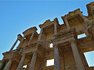 The magnificent ruins of Ephesus will dwarf you