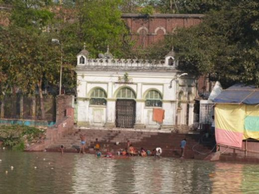 Sights seen from the river in Kolkata