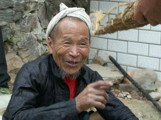Local village man