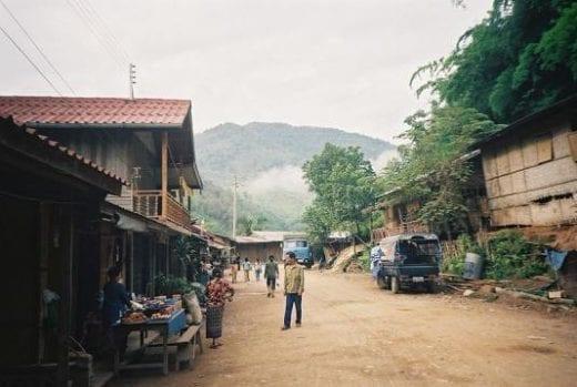 Explore Pakbeng's primitive streets