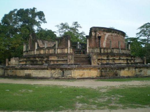 Explore the ruins at Polonnaruwa