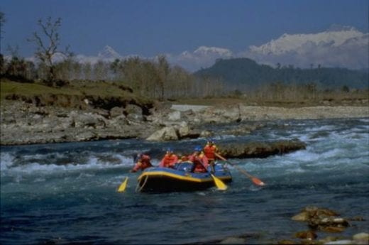 Have fun rafting on the Trishuli River