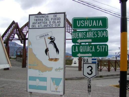 Ushuaia: the southernmost city in the world.