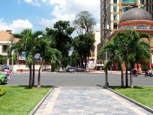 Arrive in vibrant Saigon