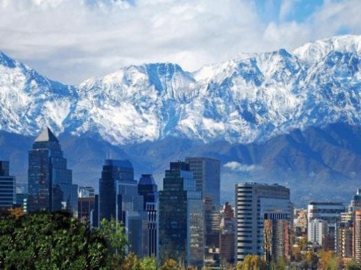 Stunning landscapes of Santiago