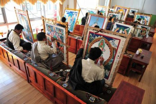 See artists at work at the Handicraft center