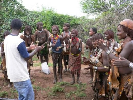 Sing with the Hamer people