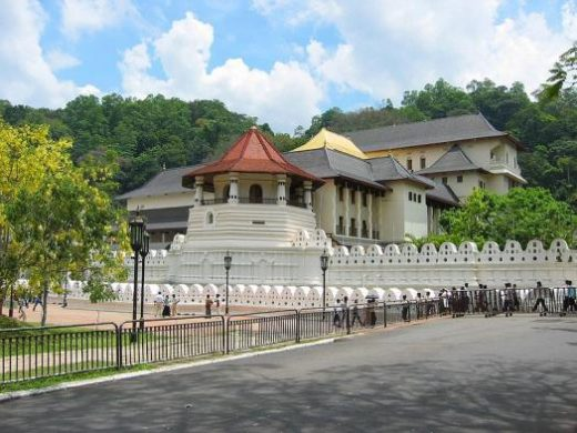 Visit the Temple of the Tooth in Kandy