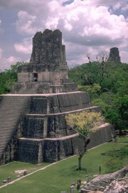 Visit the Mayan ruins at Tikal