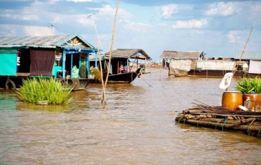 Explore village life around Tonle Sap Lake