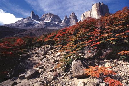 These famous towers give Torres del Paine National Park its name