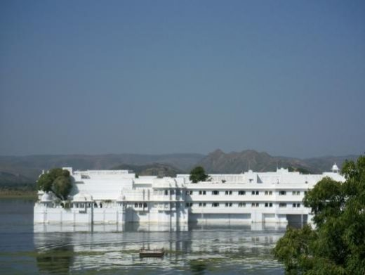 Enjoy a boat ride around the lovely Jag Niwas Palace