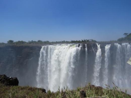 Enjoy a walk along Victoria Falls