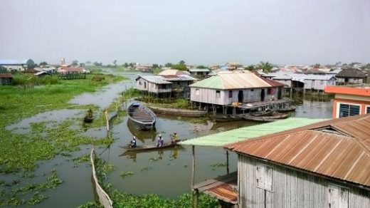 Ganvie stilt village