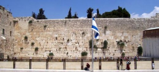 A visit to the Western Wall evokes rich emotion (photo by C. Mills)