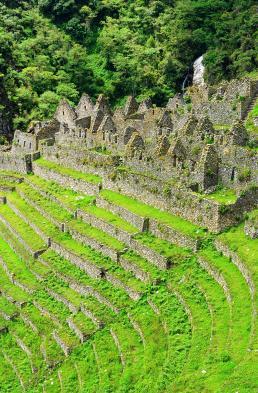 The ruins at Winay Wayna