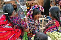 Mayan women at the Chichicastenango market