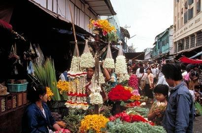 Enjoy a stroll through the local market
