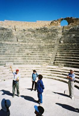 Visit the distinct amphitheater