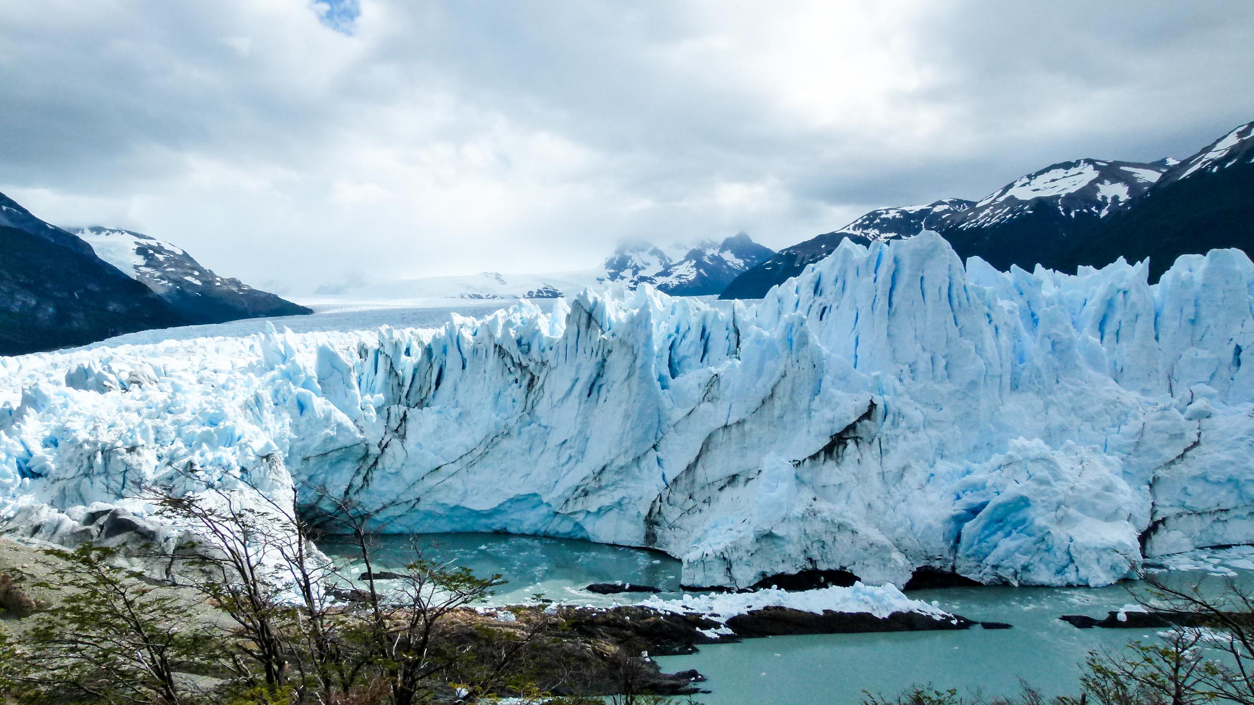 Large glacier in Argentina