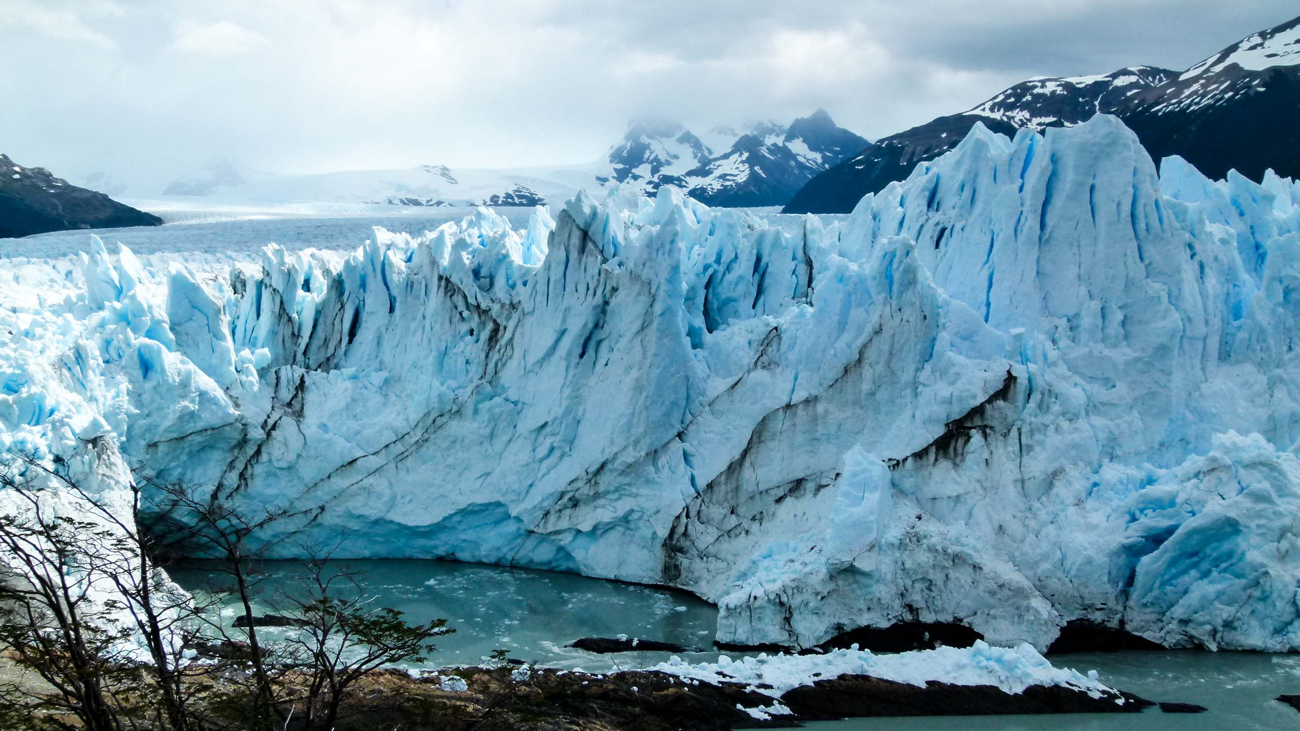 Large glacier in Argentina
