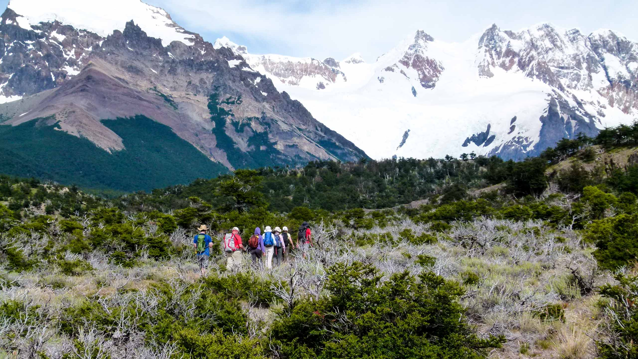 Argentina travel group hikes in Patagonia
