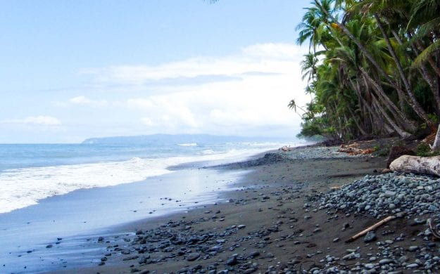 Beach of Punta Banco, Costa Rica