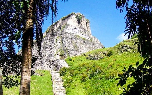 Belize temple ruins