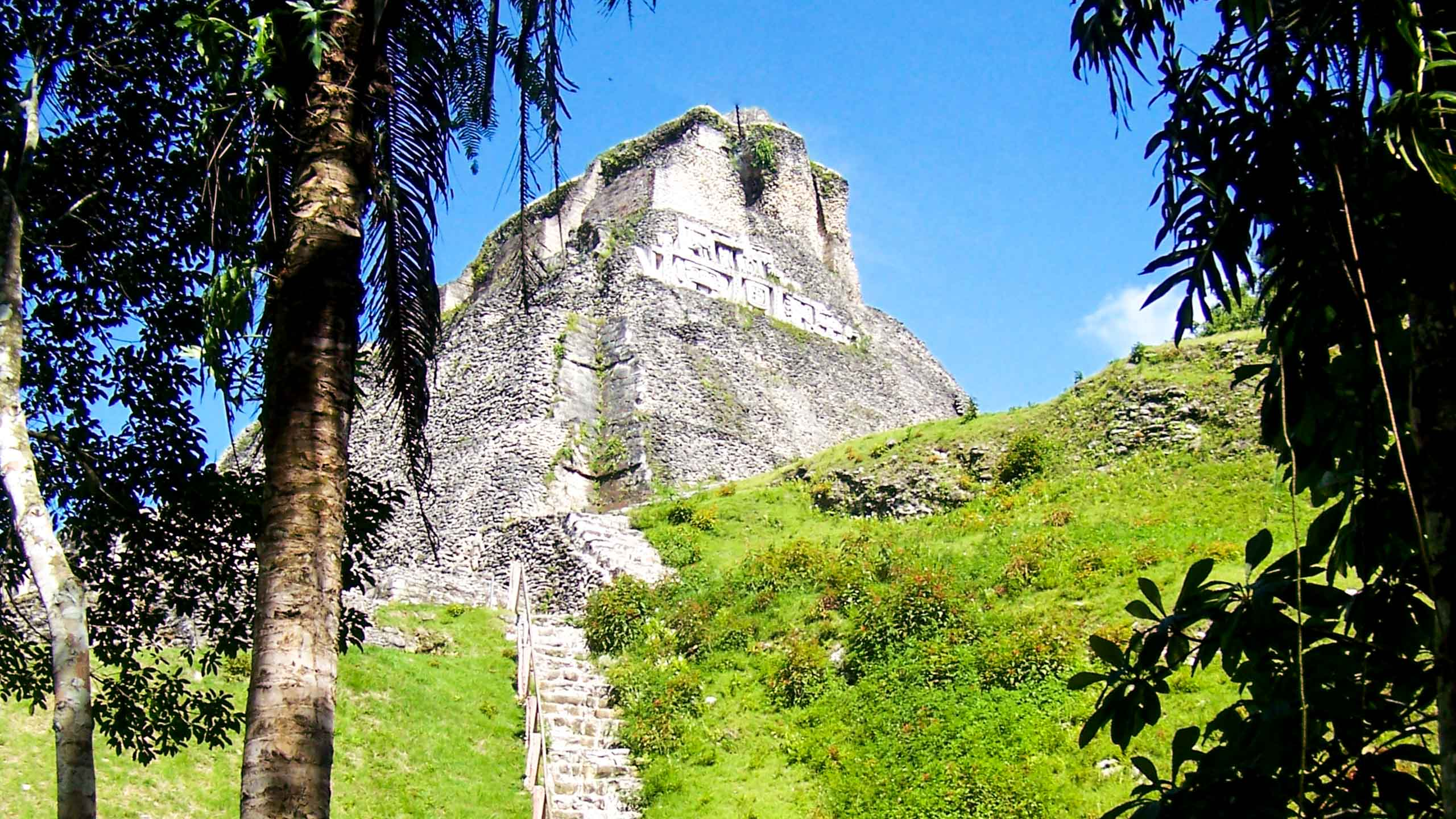 Belize temple ruins