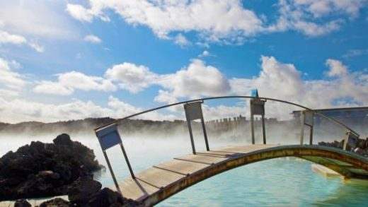 Enjoy the healing waters of the Blue Lagoon