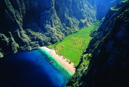 Hike in lush Butterfly Valley