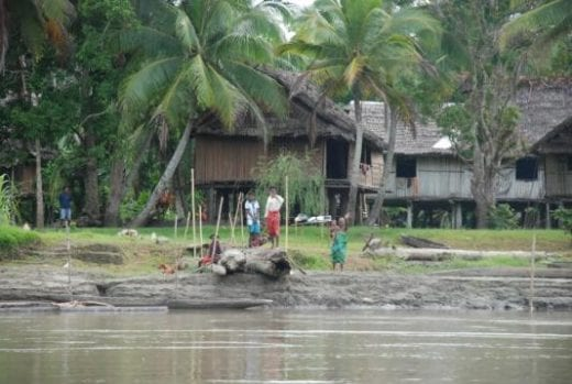 Visit village communities along the Sepik River and imagine the days of Margaret Mead