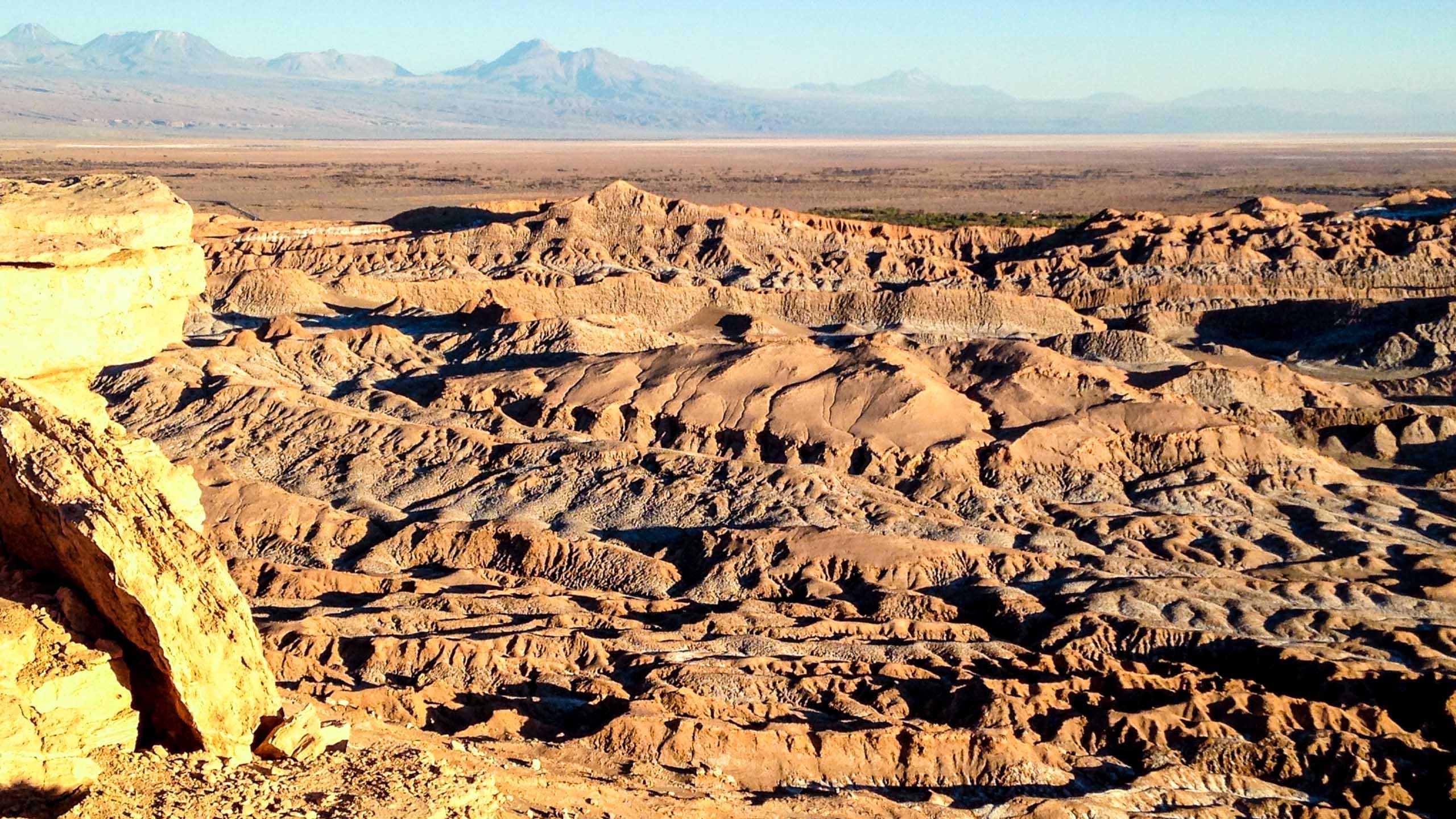 Atacama Desert landscape in Chile