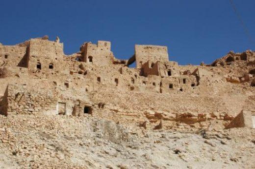 Explore ancient cliffside ruins