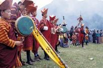 Take in the color and excitement of the Bumthang Festival