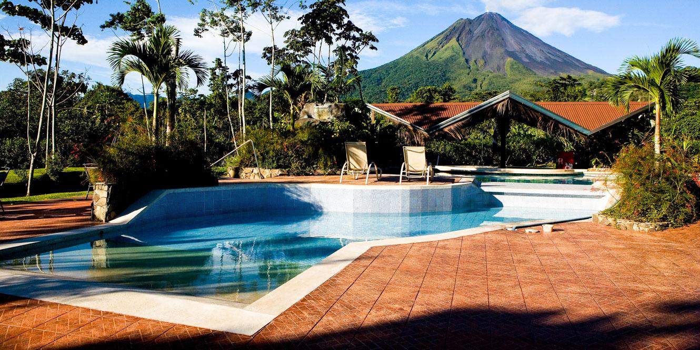 Resort pool in Costa Rica