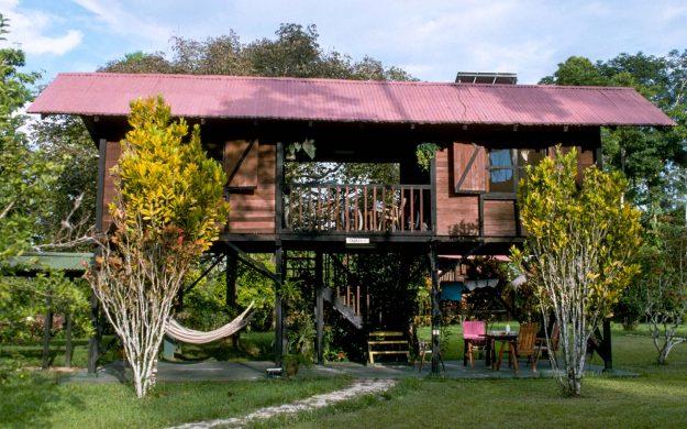 Two story Ecuador house