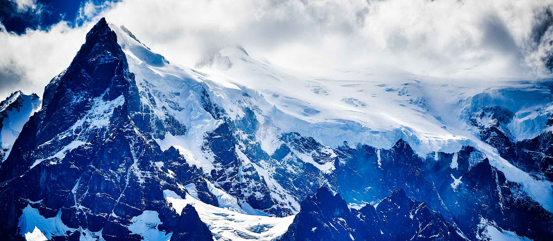 Grey Glacier in Torres del Paine, Chile