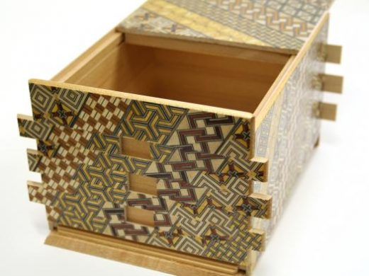 See Japanese puzzle boxes