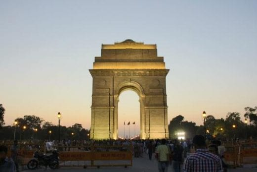The India Gate welcomes you to Delhi