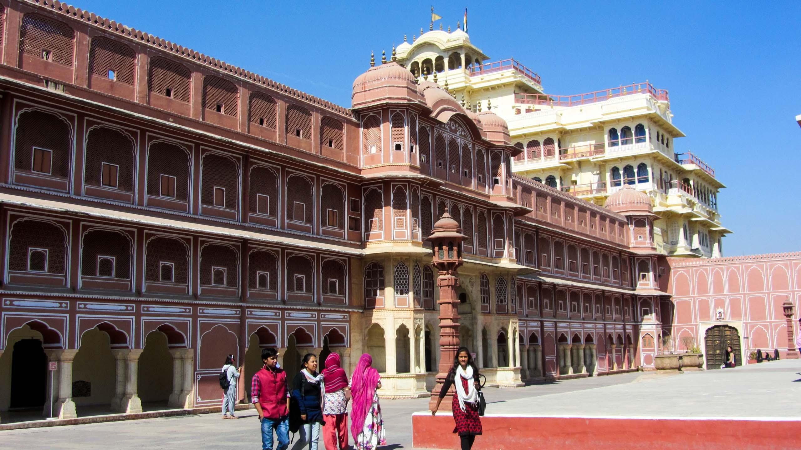 India building near plaza
